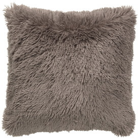 Kussen 45*45 Fluffy taupe