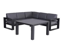 Square Lounge Corner Set