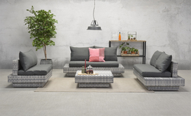 Cape Town Lounge Vintage Grey promo € 799