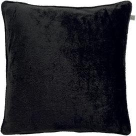Kussen 45*45 Velvet zwart