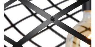 Wolfram Hanglamp zwart metaal