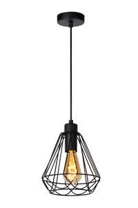 KYARA - Hanglamp - Ø 20 cm - E27 - Zwart