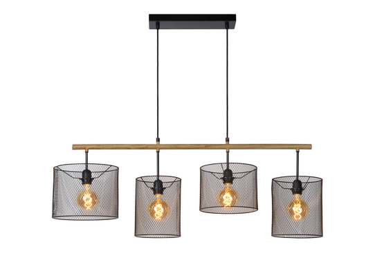 BASKETT - Hanglamp - Zwart