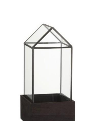 Stolp Huisje Glas/Hout small