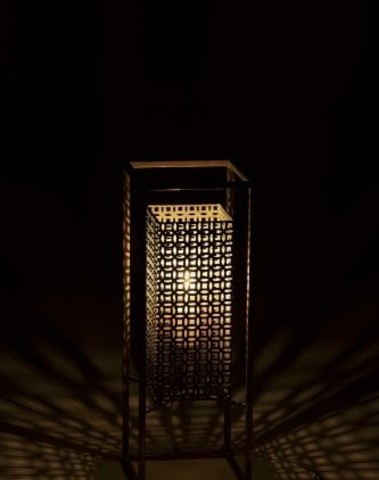Lamp rechthoek large