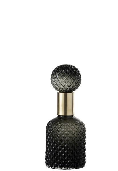 Fles met stop ruit motief small
