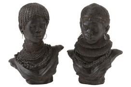 Buste Afrika assortiment van twee