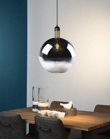 JULIUS - Hanglamp - Ø 40 cm - E27 - Fumé