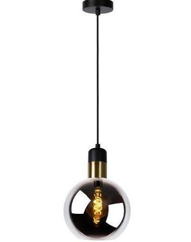 JULIUS - Hanglamp - Ø 20 cm - E27 - Fumé