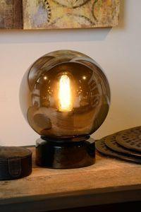 JORIT - Tafellamp - Ø 20 cm - E27 - Fumé