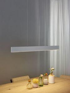 RAYA LED - Hanglamp - LED Dimb. - 1x36W 2700K - Wit