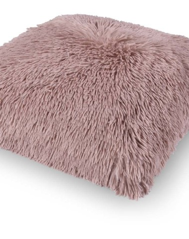 Kussen Fluffy 45*45 pruim