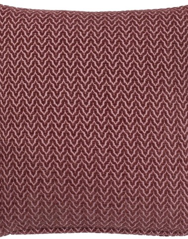 Kussen Hilke 45*45 Bordeaux