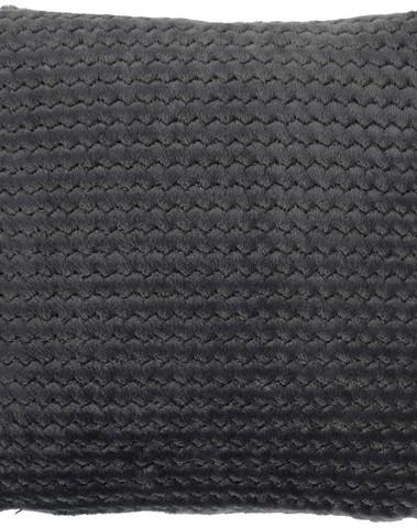 Sierkussen Mara donker grijs