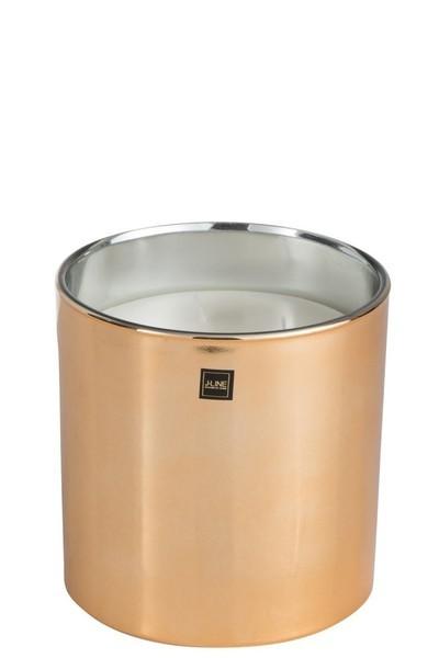 Geurkaars Glas Goud Large-45u