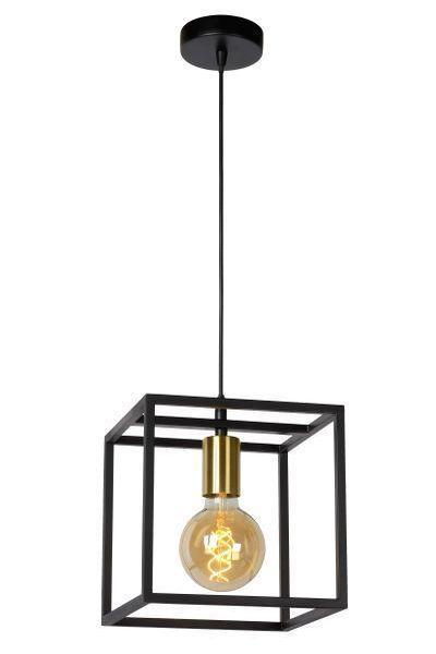 RUBEN - Hanglamp - E27 - Zwart