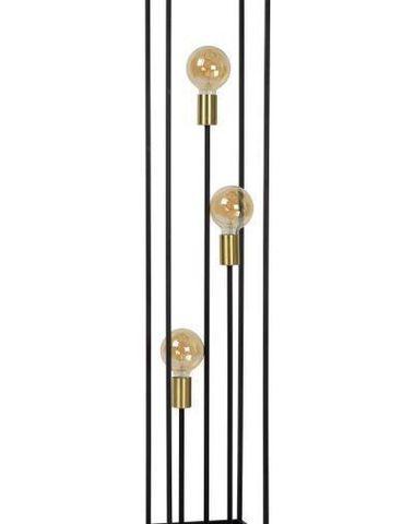 RUBEN - Vloerlamp - E27 - Zwart
