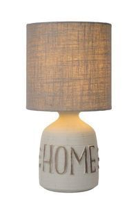 COSBY - Tafellamp - Ø 16,5 cm - E14 - Grijs