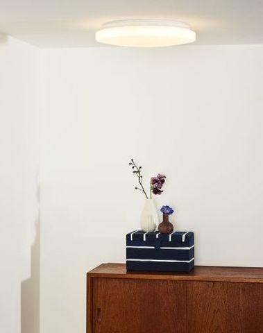OTIS - Plafonnière - Ø 34 cm - LED - 1x26W 3000K - Opaal