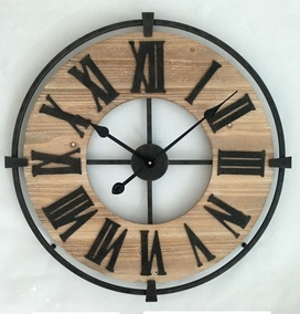 klok hout metaal € 44,60