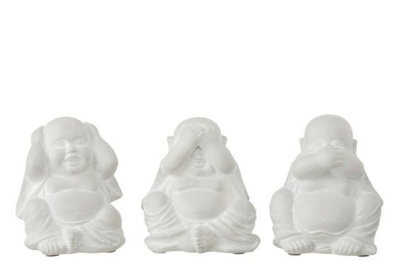 Boeddha Horen/Zien/Zwijgen