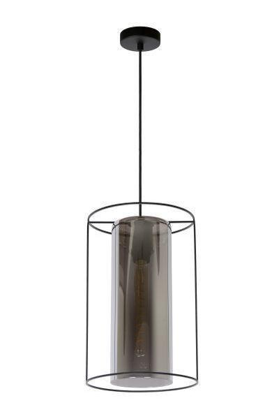 DOUNIA - Hanglamp - Ø 25 cm - E27 - Zwart
