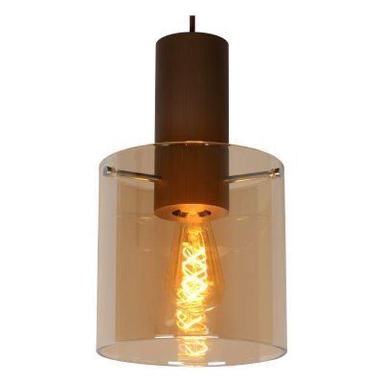 TOLEDO - Hanglamp - E27 - Amber