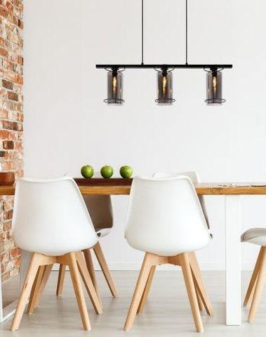 DOUNIA - Hanglamp - E27 - Zwart