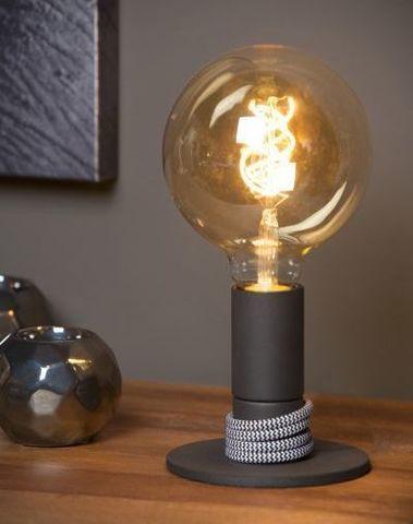 MARIT - Tafellamp - E27 - Zwart