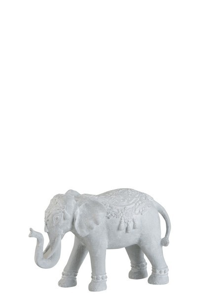 Olifant Oriental Poly Wit Small