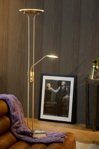 CHAMPION-LED - Leeslamp - Ø 25,4 cm - LED Dimb. - 1x20W 3000K - Zwart