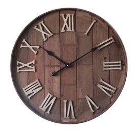 Klok Wood/Metal Round Romain € 79,90