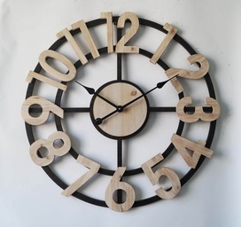 Metal Round Open Clock € 59,95
