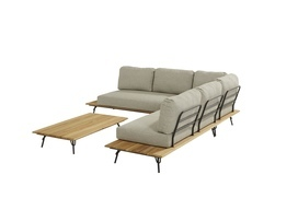 4SO Cucina Lounge with cushions Incl. Coffe table