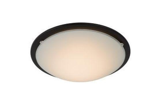 RUNE - Plafonnière - Ø 27 cm - LED - 1x8W 3000K - Zwart