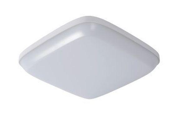 TISIS LED - Plafonnière Badkamer - LED - 1x24W 3000K - IP54 - Wit