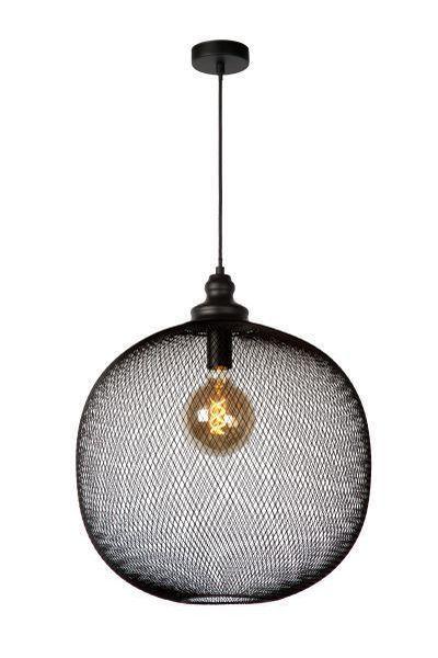MESH - Hanglamp - Ø 49 cm - E27 - Zwart