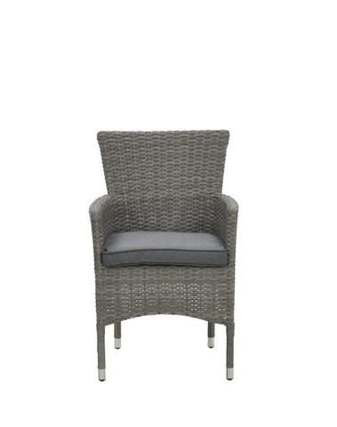 Nicosia stapelbare fauteuil - organic grey