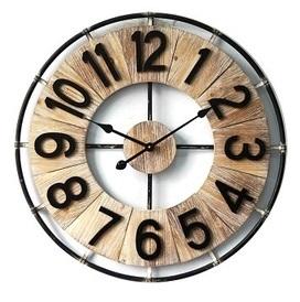 Wooden/Metal Round Clock Tile Dia 70*5cm € 89,95
