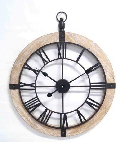 Open Wooden Wall Clock Hook