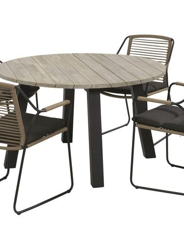 Scandic Dining + Derby tafel rond 130 cm