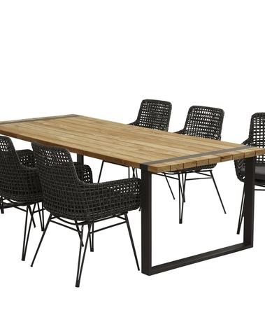 Babilonia Dining + Alto tafel 240*100