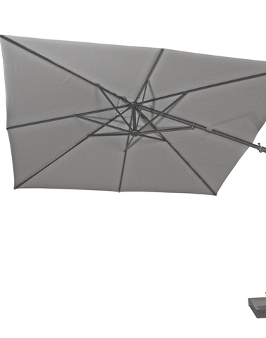 Parasol Siesta premium 300*300cm charcoal