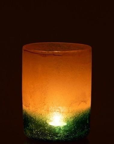 Vaas Malou Glas Oranje/Turq Medium