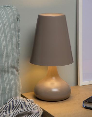 Tafellamp Isla taupe