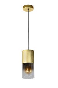 Hanglamp mat goud / messing