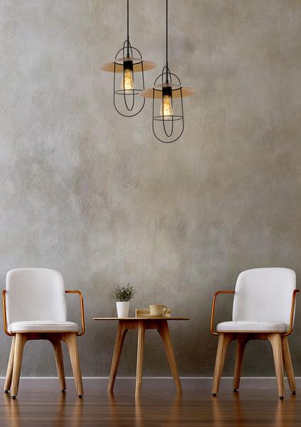 Hanglamp Masson mat goud / messing