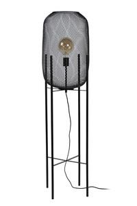 MESH - Vloerlamp - Ø 35 cm - 1xE27 - Zwart