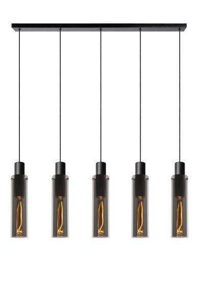 ORLANDO - Hanglamp - 5xE27 - Fumé