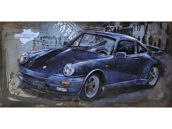 3D Metal Art Porche